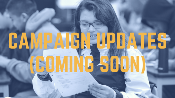 Campaign Updates (Coming Soon)