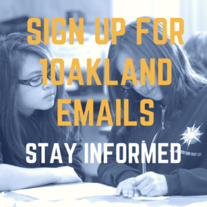 Sign up for 1Oakland Emails