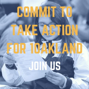 Commit to take action for 1Oakland